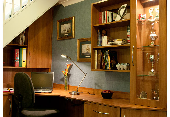 Fitted Home Office Furniture For Sale South Devon | Keith Holder Kitchens  South Hams